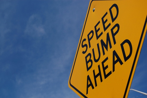 speed-bump-warning-sign